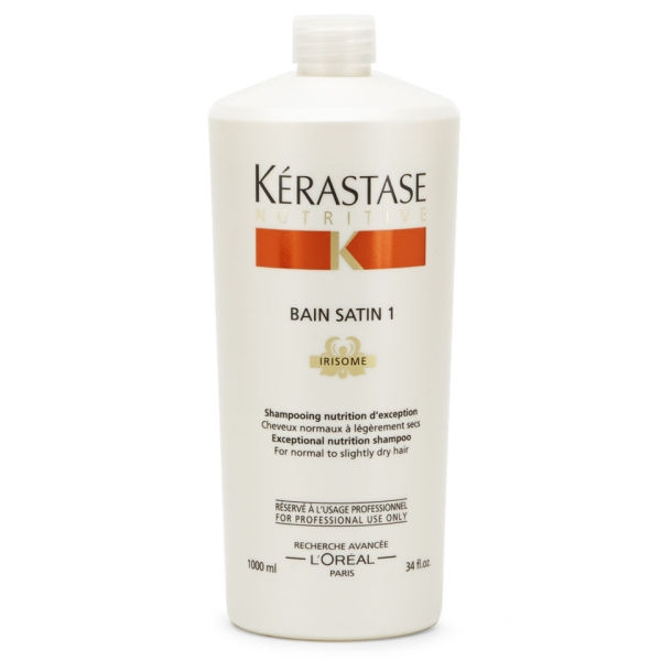 Kérastase Nutritive Bain Satin 1 Irisome Shampoo 1000 ml