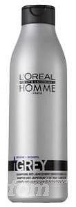 Homme (pro muže) Loreal Professionnel Homme Grey šampon 250 ml