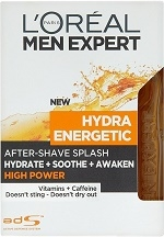 Loreal Paris Men Expert Hydra Energetic High Power voda po holení 100 ml