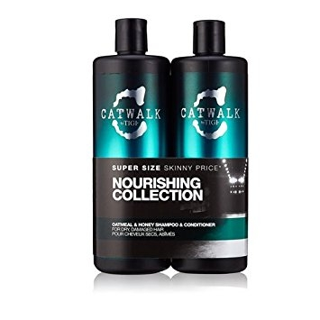 TIGI Catwalk Oatmeal & Honey Shampoo 750 ml & Conditioner 750 ml dárková sada