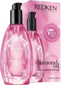 Glow Dry Redken Diamond Oil Glow Dry Style Enhancing Oil vlasový olej 100ml