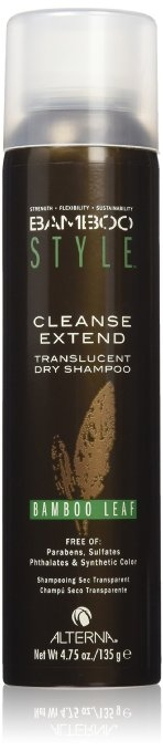 Mastné vlasy Alterna Bamboo Style Cleanse Extend Translucent Dry Shampoo Bamboo Leaf 150 ml