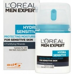 Loreal Paris Men Expert Hydra Sensitive Protecting Moisturiser hydratační krém 50 ml