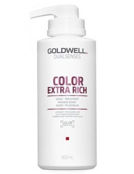 GOLDWELL Goldwell Dualsenses Color Extra Rich 60sec Treatment 500 ml