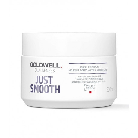 Nepoddajné vlasy Goldwell Dualsenses Just Smooth 60sec Treatment 200 ml