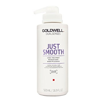 Nepoddajné vlasy Goldwell Dualsenses Just Smooth 60sec Treatment 500 ml