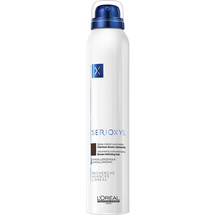 Serioxyl L'Oréal Professionnel Serioxyl Volumizing Coloured Spray Brown 200 ml