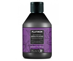 PARISIENNE ITALIA Black Professional Platinum Absolute Blond Shampoo 300 ml