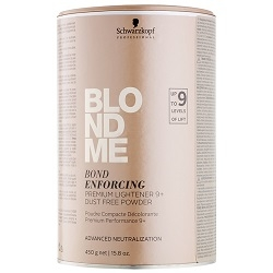 SCHWARZKOPF PROFESSIONAL  Schwarzkopf Professional Blondme Bond Enforcing Premium Lightener 9+ 450 g