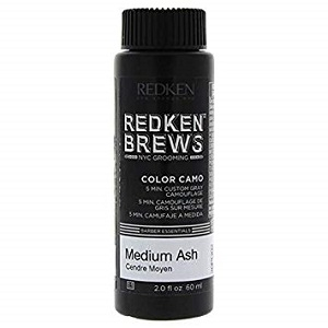 For Men Redken Brews Color Camo Medium Ash 60 ml