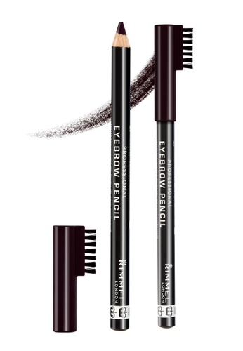 RIMMEL Rimmel Eyebrow Pencil 004 Black Brown 1,4 g