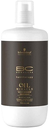Oil Miracle Schwarzkopf Professional BC Bonacure Oil Miracle Gold Shimmer Treatment 750 ml