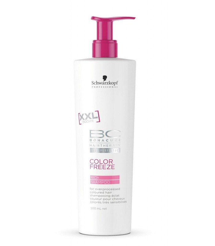 Schwarzkopf Professional BC Bonacure Color Freeze Rich Shampoo 500 ml