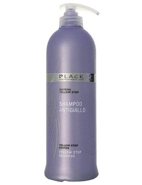 Blond vlasy Black Professional Line Yellow Stop System Shampoo 500 ml