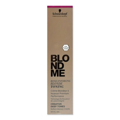 Schwarzkopf Professional BlondMe Bond Enforcing Blonde Toning Creative Deep Tones 60 ml