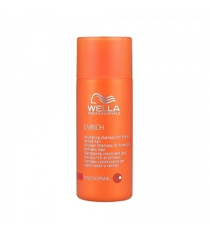 Péče Wella Professionals Enrich Shampoo Fine / Normal 50 ml