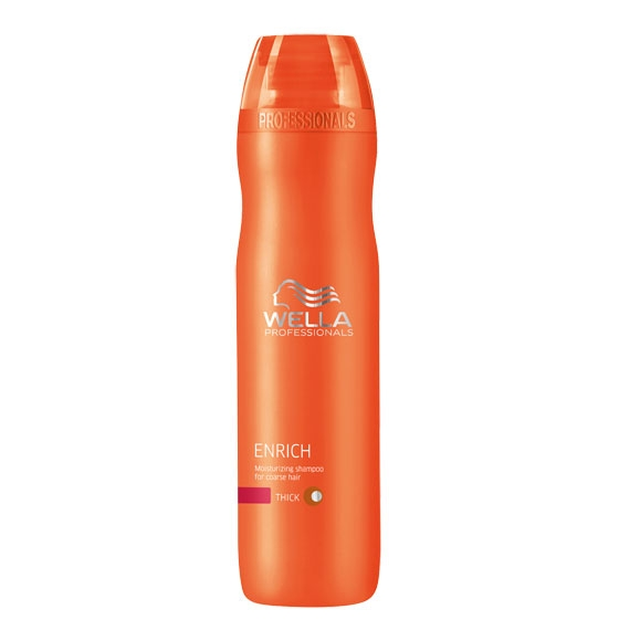 Wella Professionals Enrich Shampoo Coarse 250 ml