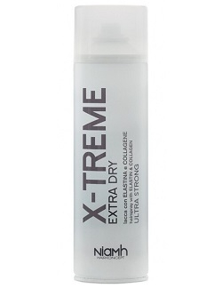 Akce NiaMh HairKoncept X-Treme Extra Dry Hairspray Elastin Strong 500 ml